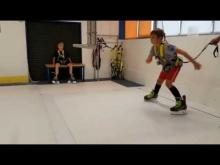 Embedded thumbnail for Skatemill Hradec Králové - 9 let bruslení dozadu I