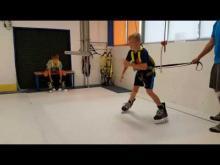 Embedded thumbnail for Skatemill Hradec Králové - 9 let bruslení dozadu II